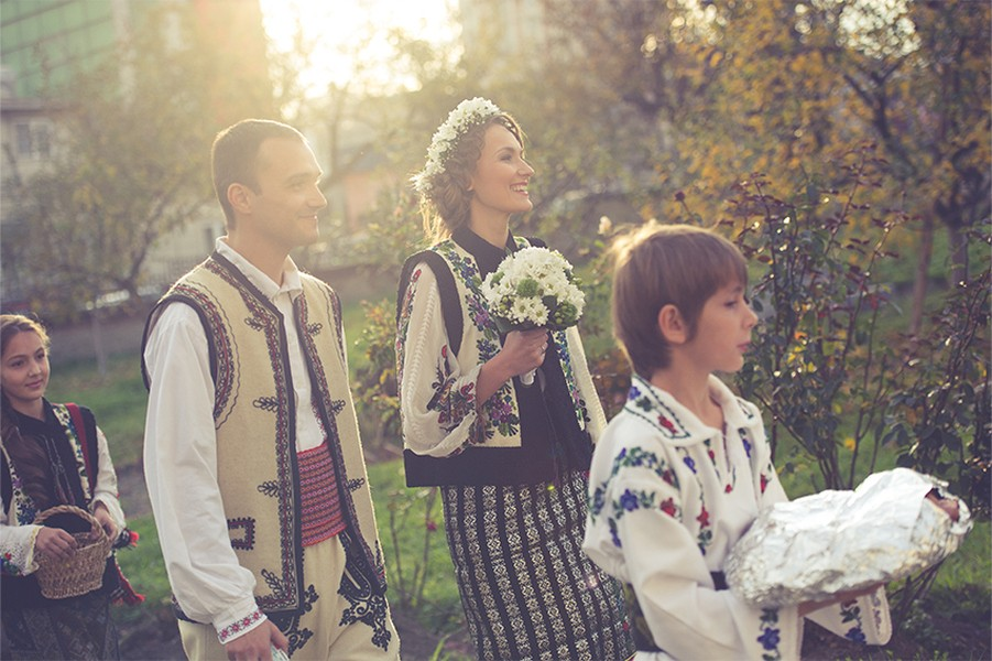 Life is about moments traditional romanian wedding in bucovina pure romania - Traditional style wedding romania ...