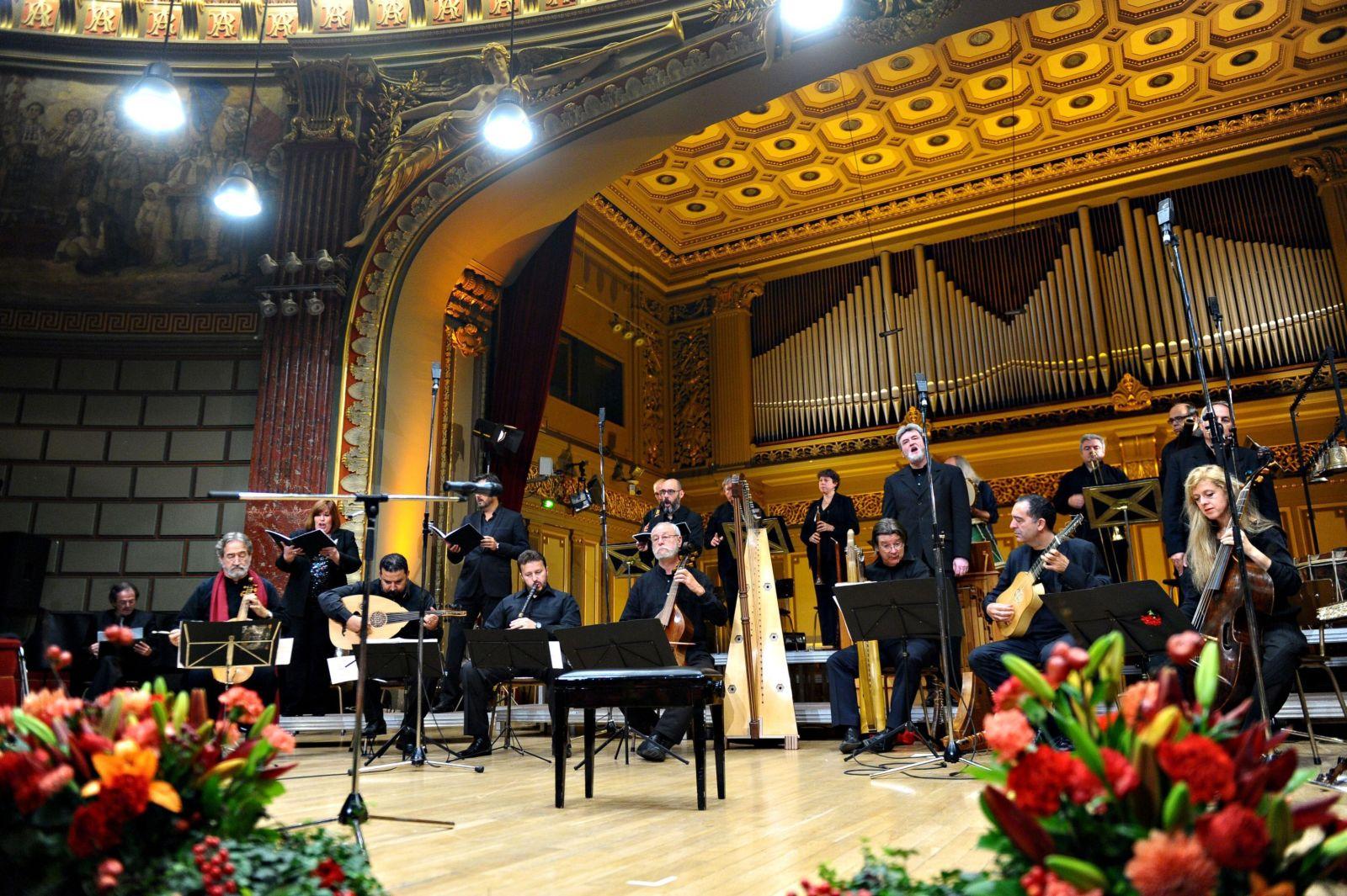 Hesperion Jordi Savall Romanian Athenaeum Bucharest DINASTIA BORGIA - Biserica si puterea în Renastere
