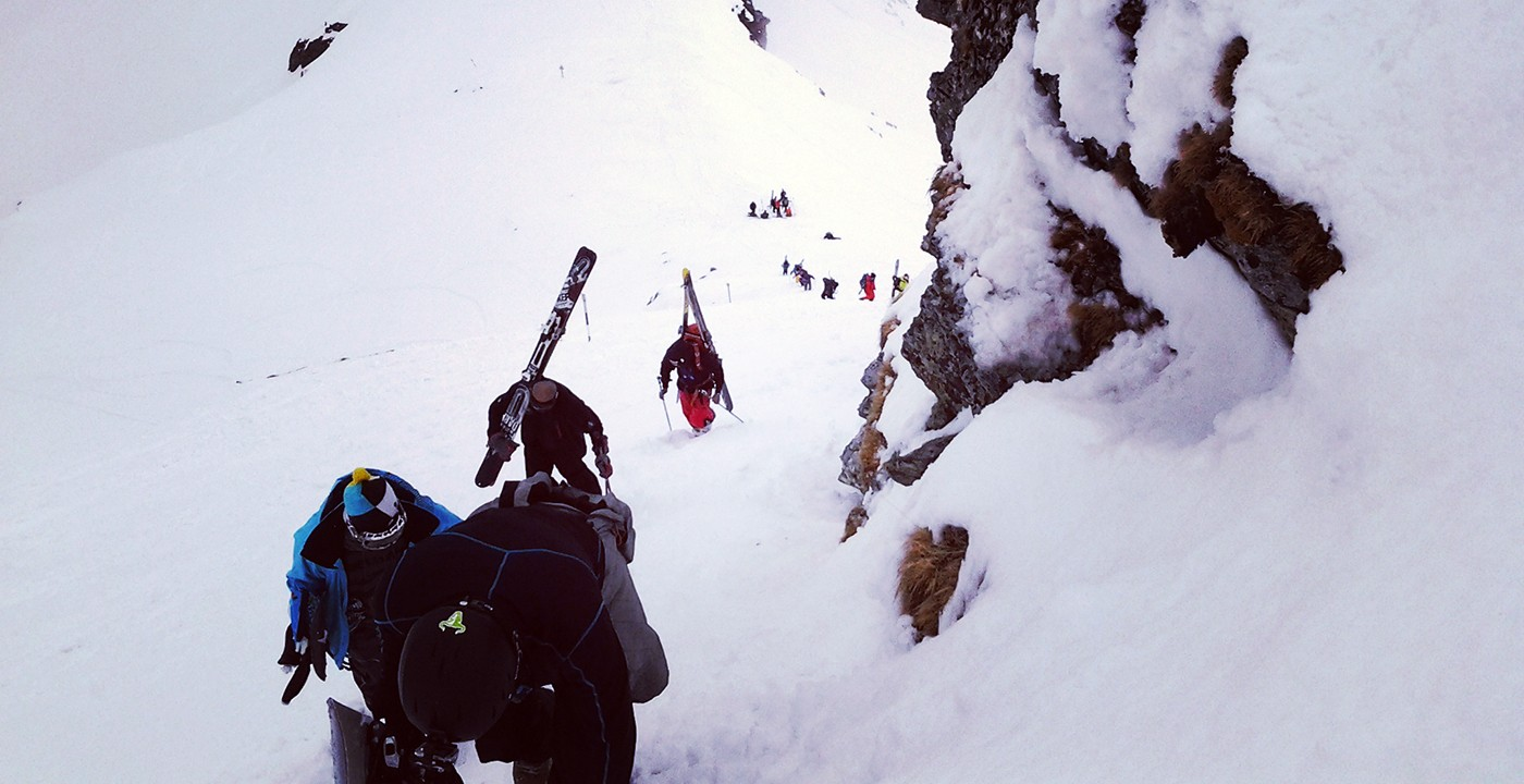 Ski in spring