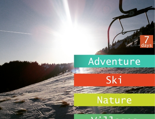 Skiing holidays for beginners